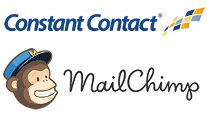 Email marketing providers, Constant Contact & MailChimp
