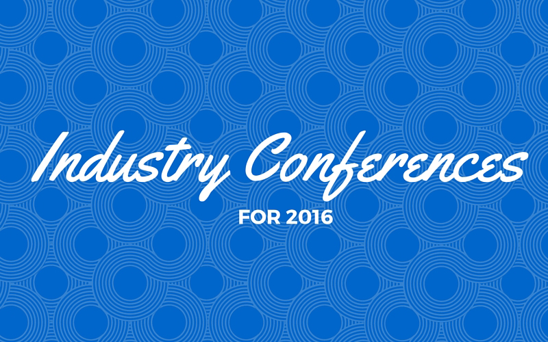 Industry Conferences for 2016: Social Media, UX, and Web Design