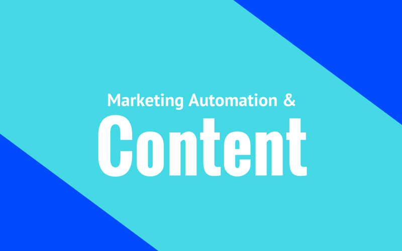 What Can Marketing Automation Do For Your Content Efforts?